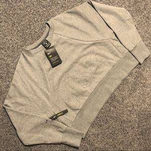 NIKE Dri-Fit Training Gray Sweater Size Medium NWT